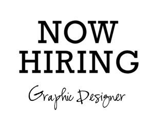 SEEKING A PASSIONATE MID-LEVEL GRAPHIC DESIGNER